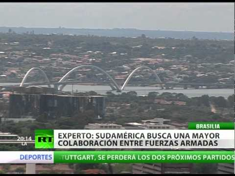 Brasil propone crear un sistema de defensa conjunta sudamericana