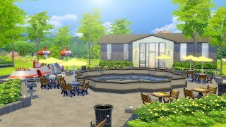 Building a Park in The Sims 4 (Streamed 9/25/18)