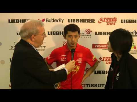 Zhang Jike (CHN) - Interview 2013 WTTC
