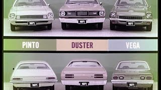 1971 Plymouth Duster vs.  Chevrolet Vega and Ford Pinto Dealer Promo Film