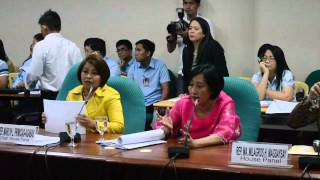 Video Senate Bicam Expanded AntiTrafficking Act 2012