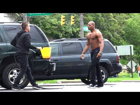 Stealing Peoples Gas Prank!! video