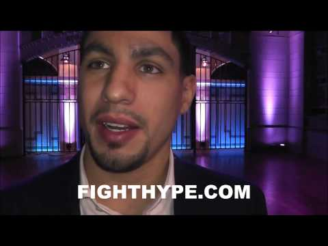DANNY GARCIA TALKS LAMONT PETERSON CLASH: