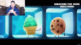 Reactions Funny adorable The Emoji Movie Trailer Reaction