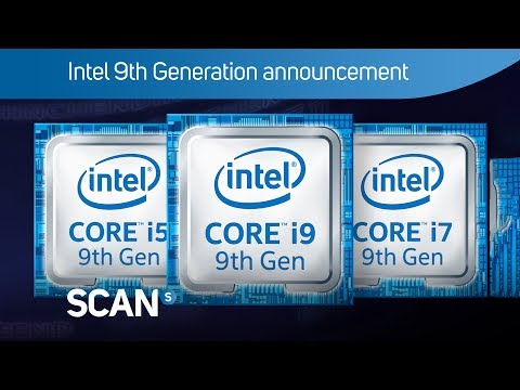 Intel 9th gen Coffee Lake processors announced - now with up to 8-cores and 16-threads