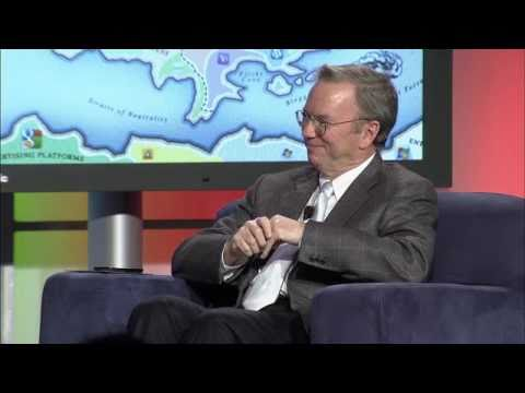 Eric Schmidt at Web 2.0 Summit