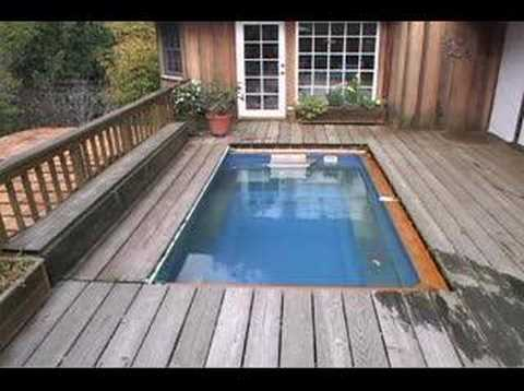 Endless pools installation options youtube for Indoor lap pool cost