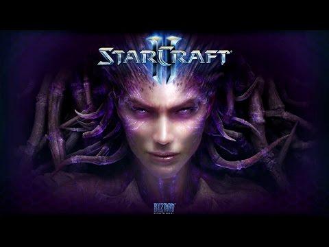 """Фильм """"Starcraft 2: Heart of the Swarm"""" (полный игрофильм, весь сюжет) [1080p]"""