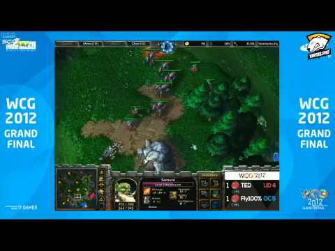 WCG 2012 WC3: Final Fly vs TED Game 3