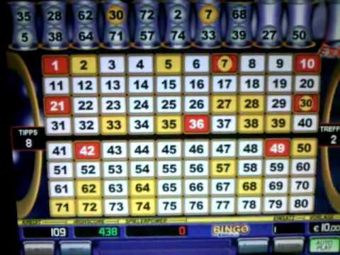 merkur spielautomat bingo