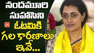 Reasons For Nandamuri Suhasini Defeat In Telangana Elections 2018 | Kukatpally TDP