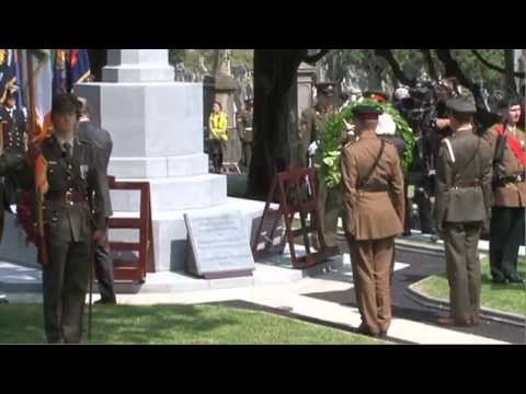 The Dedication of the Cross of Sacrifice, Glasnevin Cemetery, 31 July 2014
