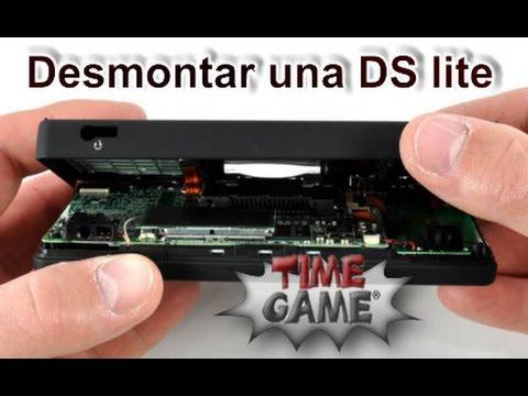 Como desmontar o abrir una Nintendo DS lite