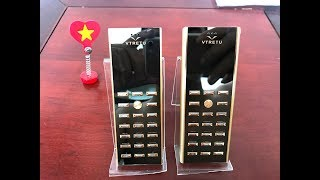 Vertu V02 Vtretu sang trọng giá rẻ - So sánh vertu V01 và Vertu V02