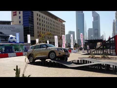 Nissan Patrol 2014 @ Dubai Motor show 2013