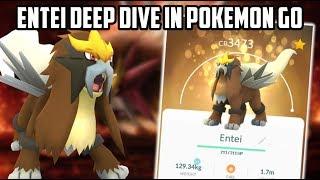 Entei Deep Dive In Pokemon Go! (How Good Is Entei?)