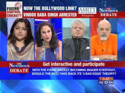 The Newshour Debate: Will Bollywood Links, how big can the IPL Scandal get? (Part 3 of 4)