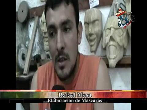 ELABORACIÓN DE MASCARAS RAFA MESA