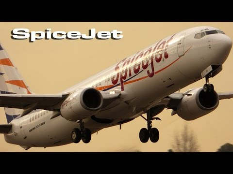 SpiceJet Smartwings at VLC !