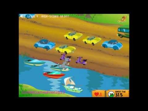 Tom And Jerry Cartoon Online Game  Cat Crossing  video
