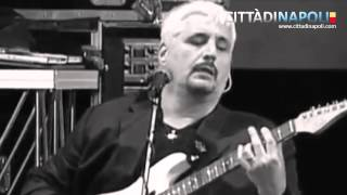 "Pino Daniele, live piazza del Plebiscito ""Yes I Know my way"""