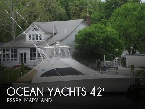 Used 1991 Ocean Yachts 42 Super Sport for sale in Essex, Maryland