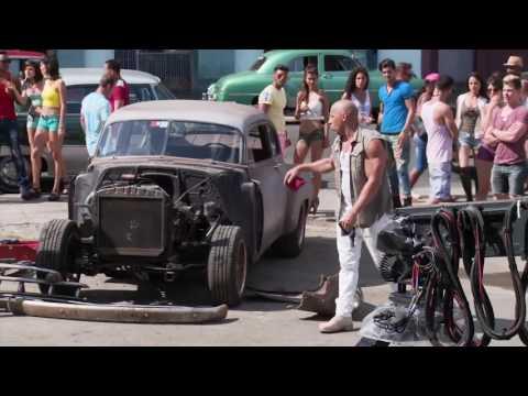 Detrás de cámaras: Rápidos y Furiosos 8