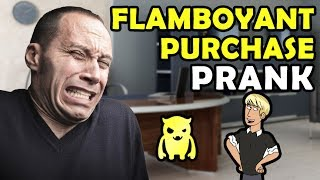 Flamboyant PS4 Purchase Prank - Ownage Pranks