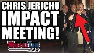 Real Reason WWE Raw So Bad! Chris Jericho Meets With IMPACT Wrestling!   WrestleTalk News Dec. 2018