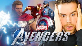 The NEW AVENGERS GAME is absolutely AMAZING!! | Marvel's Avengers PS4 Gameplay (#1)