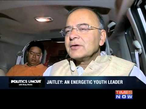 Politics Uncut: Arun Jaitley - Part 1