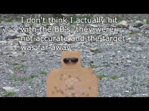 Safety Glasses vs. Pellet pistol (BB gun) and .22