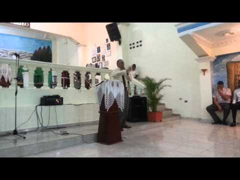 Pastor Victor pavon predica en Rep.Dom. Iglesia Exodo 14:14 pastor Cristian Silverio