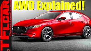 Here's a Detailed Explanation of How The 2019 Mazda3 AWD System Works!