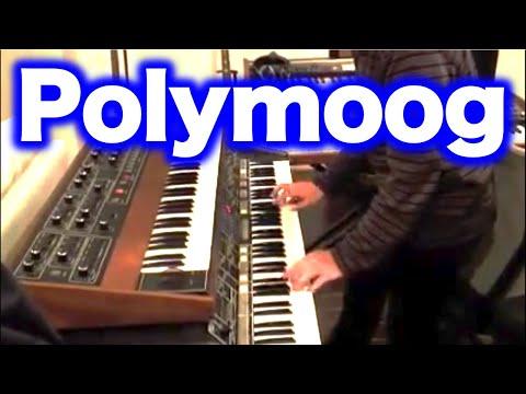 Polymoog Synthesizer