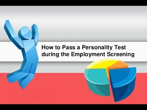 pre employment testing and screening