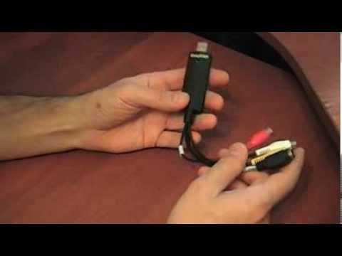 Устройство для оцифровки видеокассет VHS - EasyCap