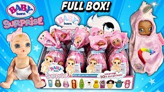 Baby Born DOLL VIDEO NEW Baby Born Surprise Series 1 Baby Born Dolls Mini Baby Doll Toy W/ Surprises