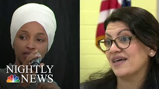 Israel Bans Democratic Congresswomen From Entry Under Trump Pressure   NBC Nightly News