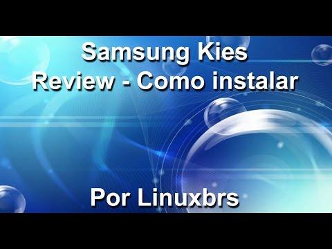 Review - Samsung Kies - Como instalar e utilizar