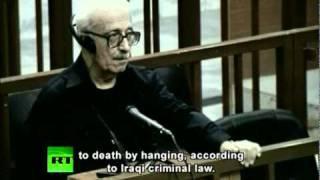 Tariq Aziz sentenced to death by hanging