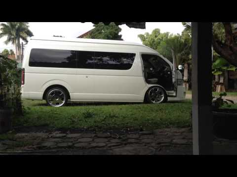 Hiace Air suspension
