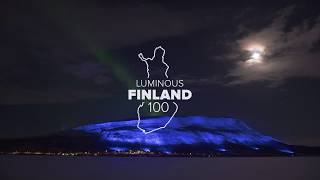 Luminous Finland 100 – Light Art Ensemble
