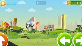 game DUA XE cho be#o to hoat hinh # 10102017#GAME WORLD FOR KIDS