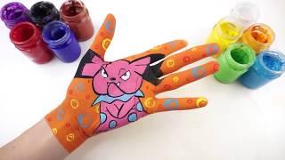 Hướng Dẫn Vẽ Snubbull (Pokemon) l Bé Học Nhận Biết Màu Sắc Tiếng Anh l Cùng Bé Học Tiếng Anh