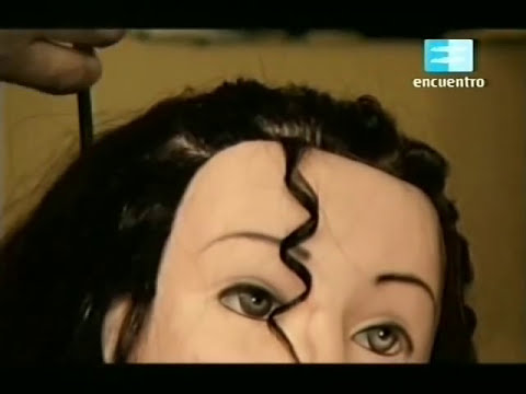 Curso de Peluquería (Estilista) - Cap. 15 (Peinado con torzadas) 1
