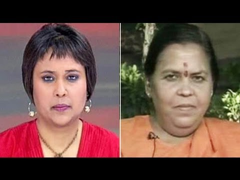 RSS teachings in our blood - Uma Bharti to NDTV