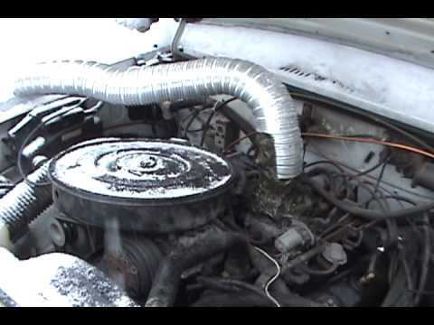 Truck running on fuel vapors