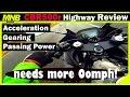 Honda CBR500r HIGH SPEED Review | FULL Throttle, Acceleration Test (MPH)