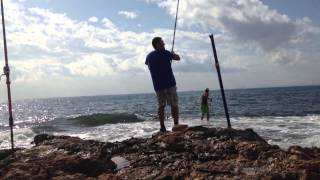Palometon RockFishing! Machado SurfCasting 2014